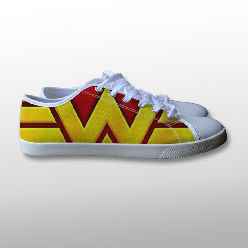 Wonder Woman Canvas Shoes