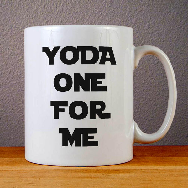 Yoda One for Me Ceramic Coffee Mugs