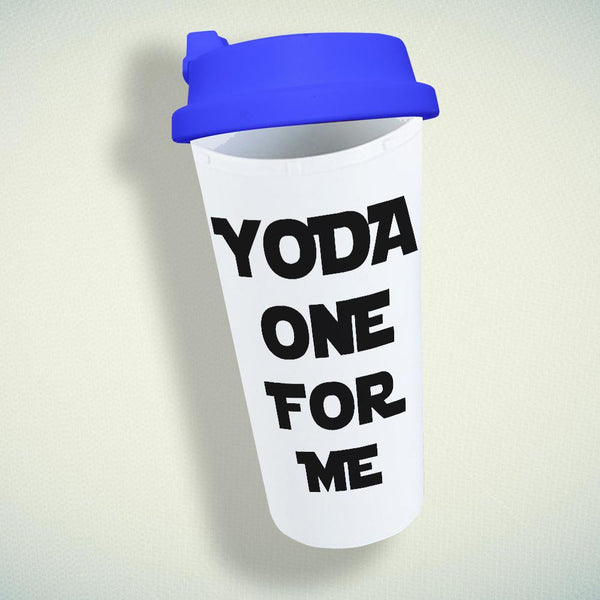 Yoda One For Me Double Wall Plastic Mug