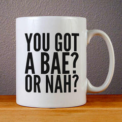You Got A Bae Or Nah Magcon Boys Ceramic Coffee Mugs
