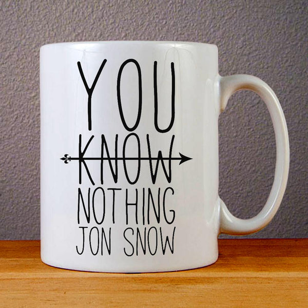 You Know Nothing Jon Snow Ceramic Coffee Mugs