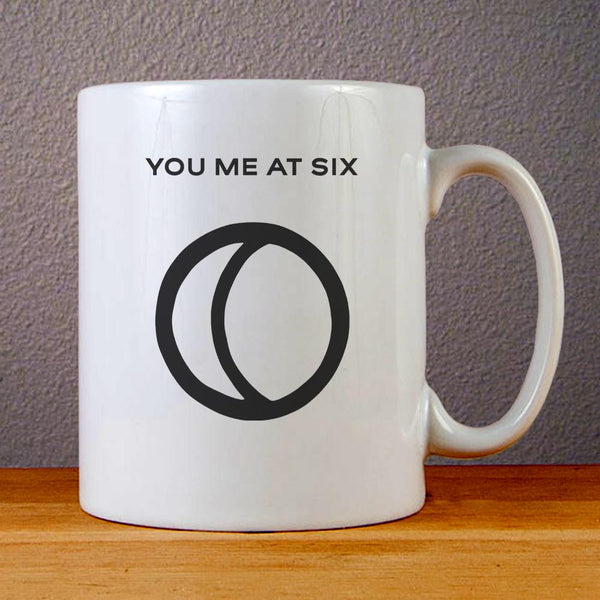 You Me At Six Logo Ceramic Coffee Mugs