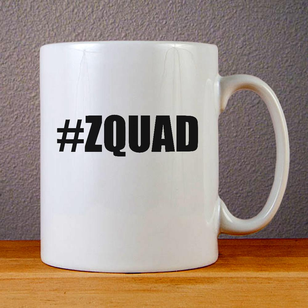 Zayn Malik ZQUAD Logo Ceramic Coffee Mugs