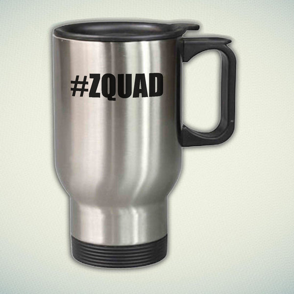 Zayn Malik ZQUAD Logo 14oz Stainless Steel Travel Mug