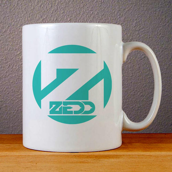 Zedd Logo Ceramic Coffee Mugs