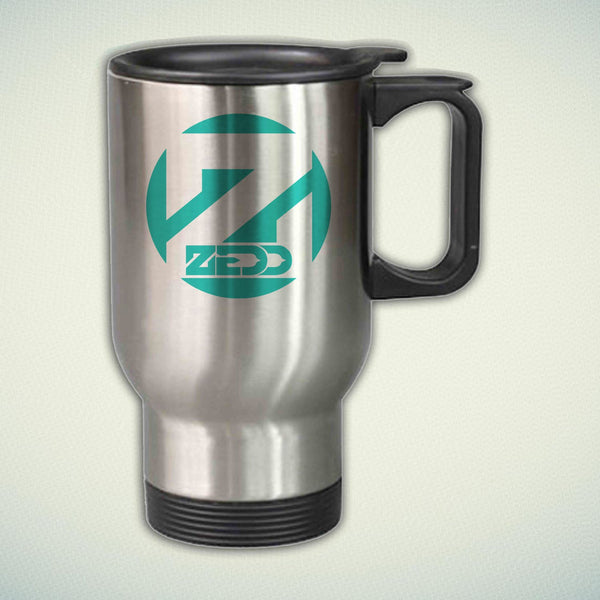 Zedd Logo 14oz Stainless Steel Travel Mug