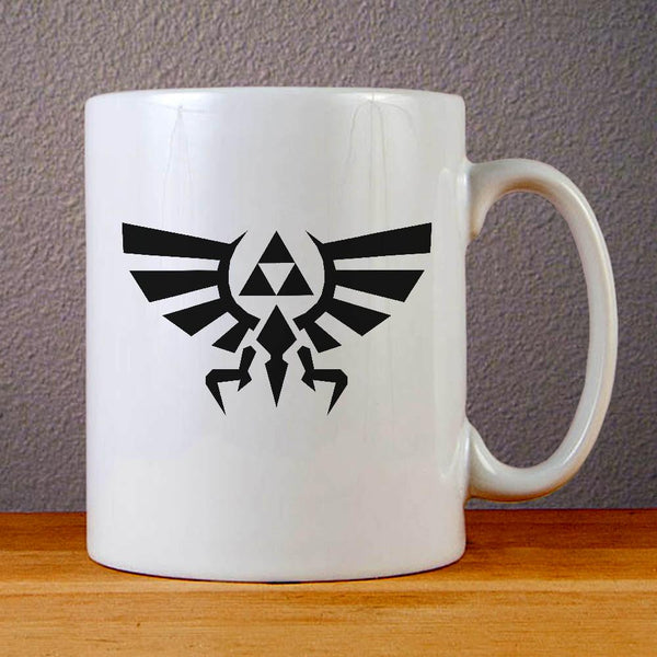 Zelda Triforce Logo Ceramic Coffee Mugs