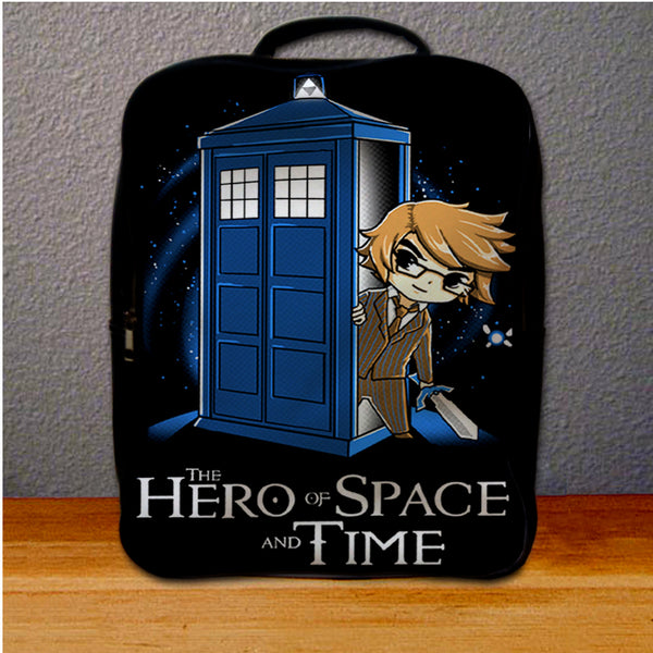 Zelda on tardis Funny Backpack for Student