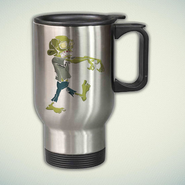 Zombie 14oz Stainless Steel Travel Mug