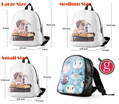 Alice in Wonderland Collage Backpack for Student
