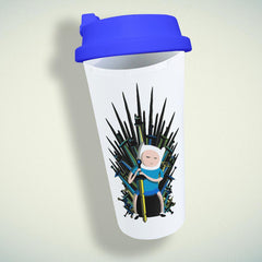 Jake Game Of Thrones Adventure Time Double Wall Plastic Mug