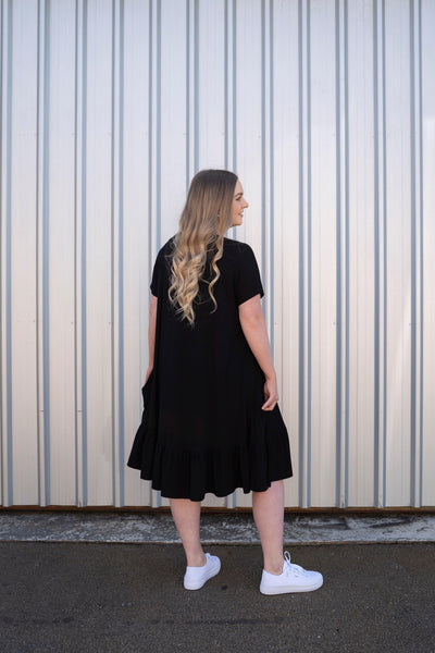 The Maybelle Dress - Midnight