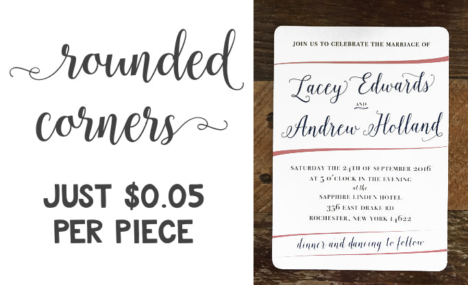 Rounded Corners | Sizzle Cone Designs