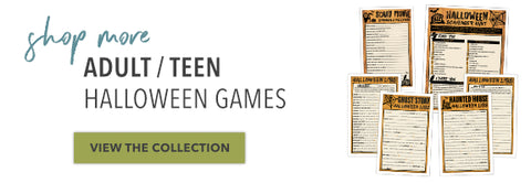 Shop More Adult / Teen Halloween Games