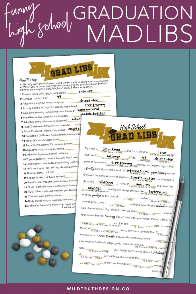 image regarding Free Printable Graduation Party Games identified as Birthday Get together Online games For Grown ups #103 - Wild Truth of the matter Layout Co