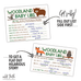 woodland creatures baby shower games