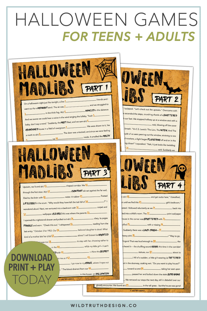 Halloween Love For Reviews Wild Truth Design Co