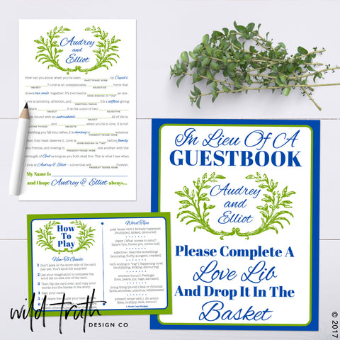 Love Libs Guestbook Alternative