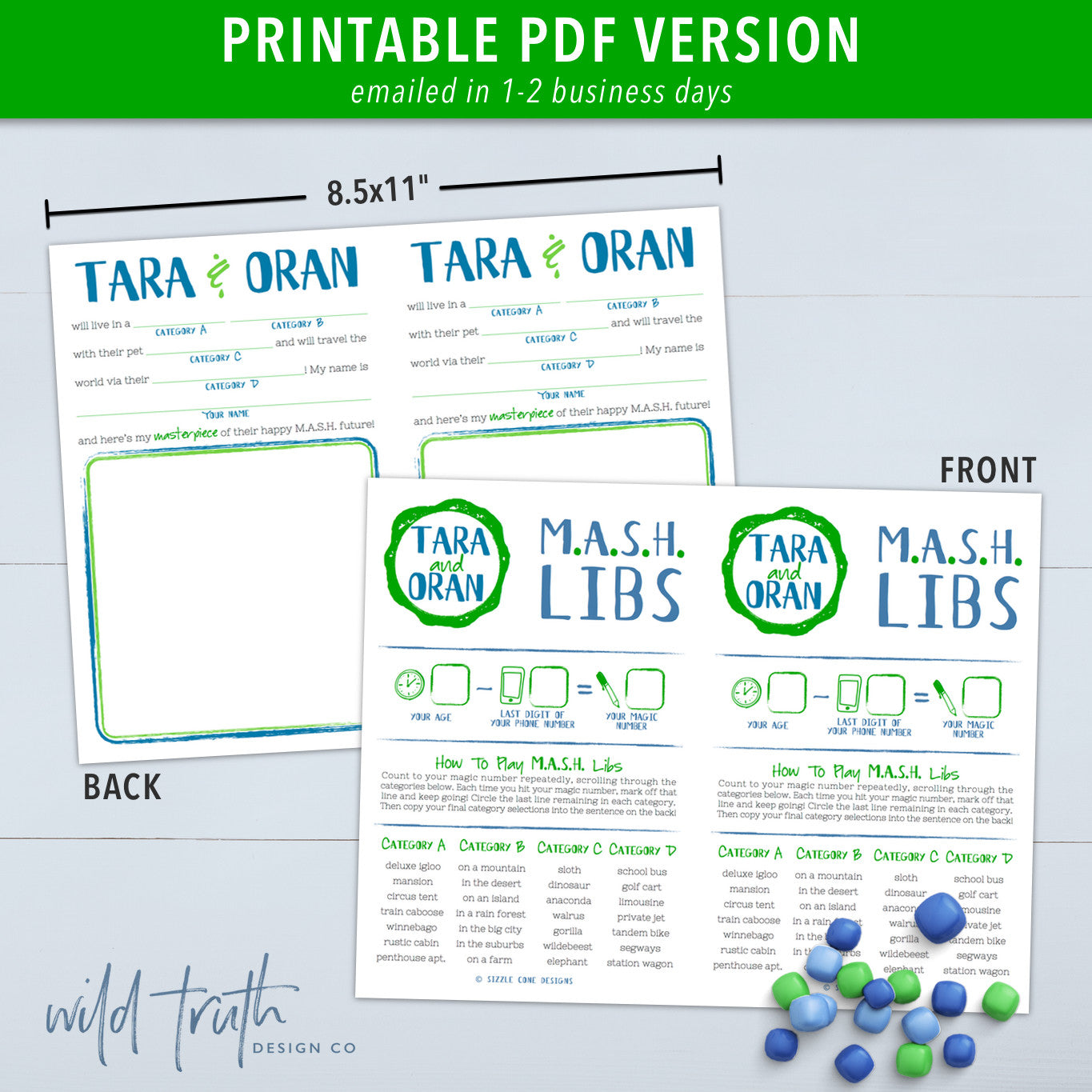 picture about Mash Game Printable referred to as MASH Drawing Libs Wedding day Activity Printable #201 - Wild Truth of the matter Structure Co