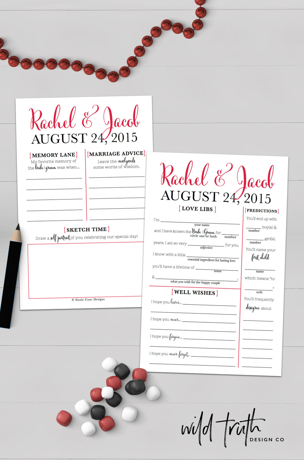 Wedding Guest Libs Personalized