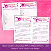 Double Sided Mad Libs - Baby Shower | Sizzle Cone Designs