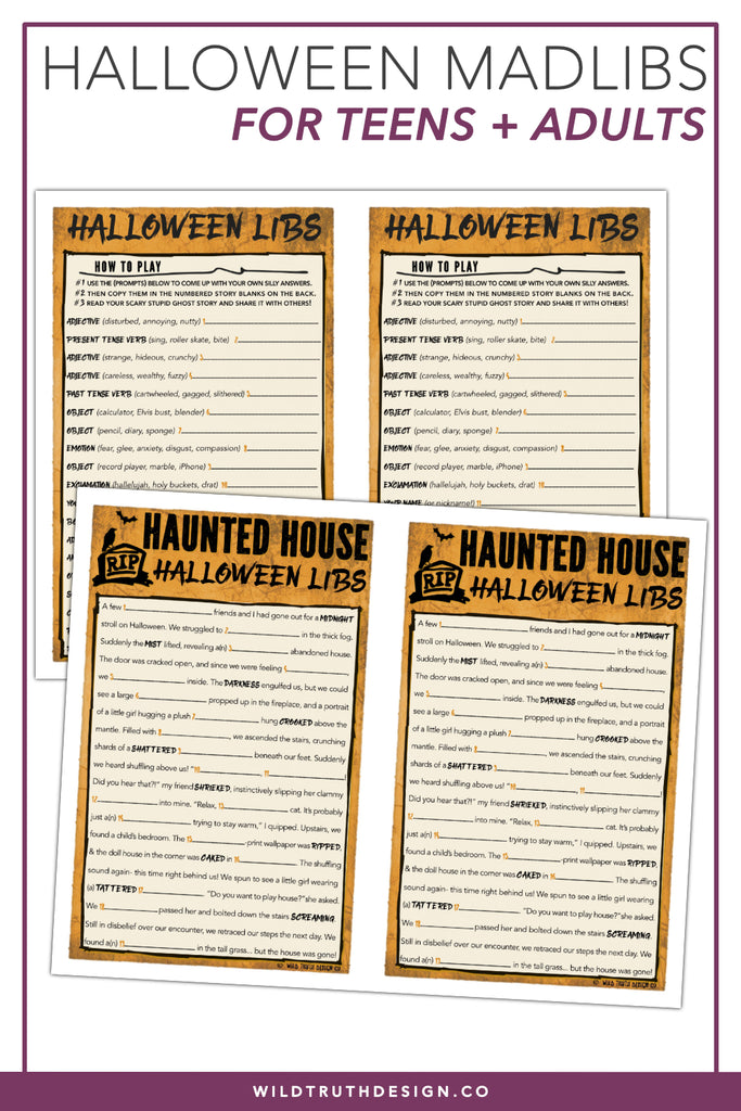 image about Printable Mad Libs Sheets for Adults known as Getaway Celebration Online games For All Ages [Printable Immediate