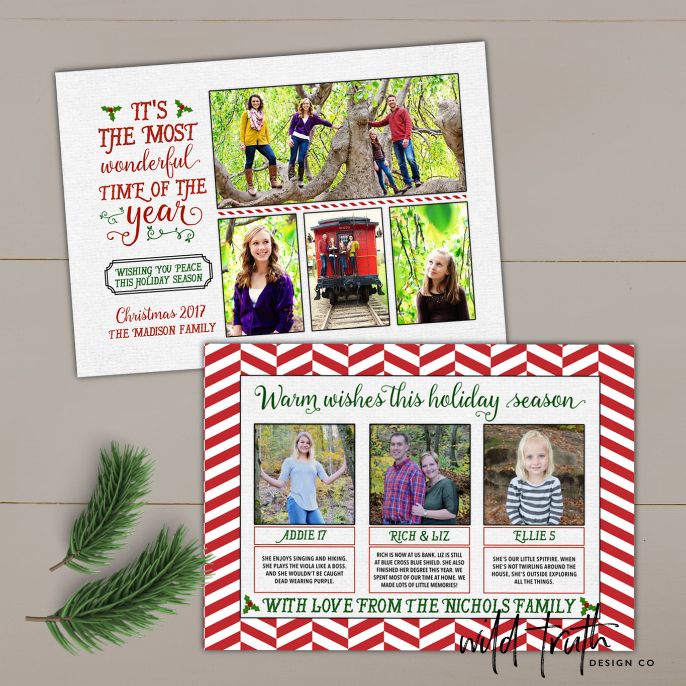Most wonderful time of the year photo christmas card annual most wonderful time of the year christmas card kristyandbryce Image collections