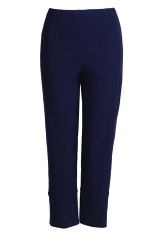 SPLIT DETAIL CROP PANT