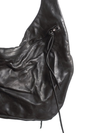 LEATHER HIP BAG