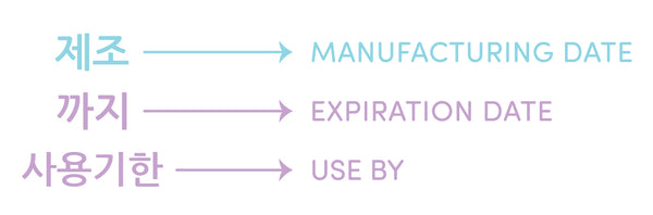 K-Beauty Guide: Expiration Date vs Manufacturing Date