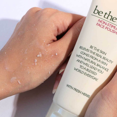 be the skin non stimulus face polisher