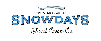 Snowdays Shaved Cream Co. Logo