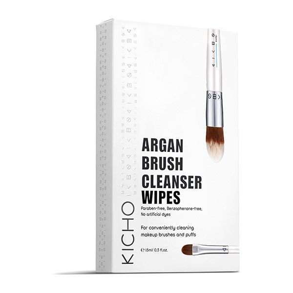 ARGAN BRUSH CLEANSER WIPES (SET OF 5)