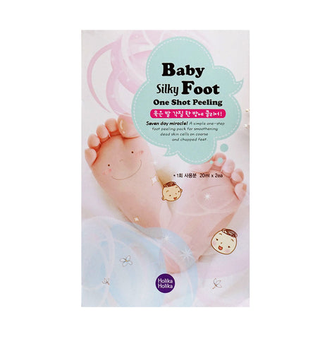 BABY SILKY FOOT ONE SHOT PEELING SHEET MASK