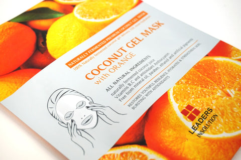 COCONUT GEL MASK WITH ORANGE