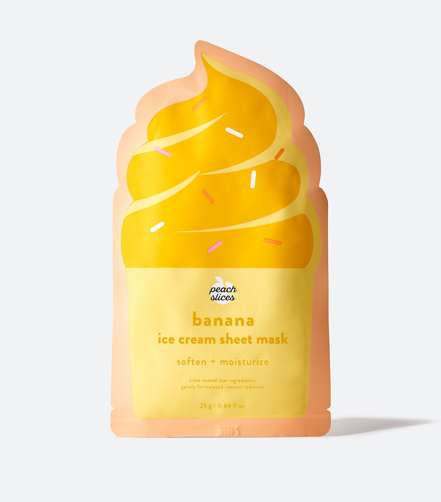 Banana Ice Cream Sheet Mask