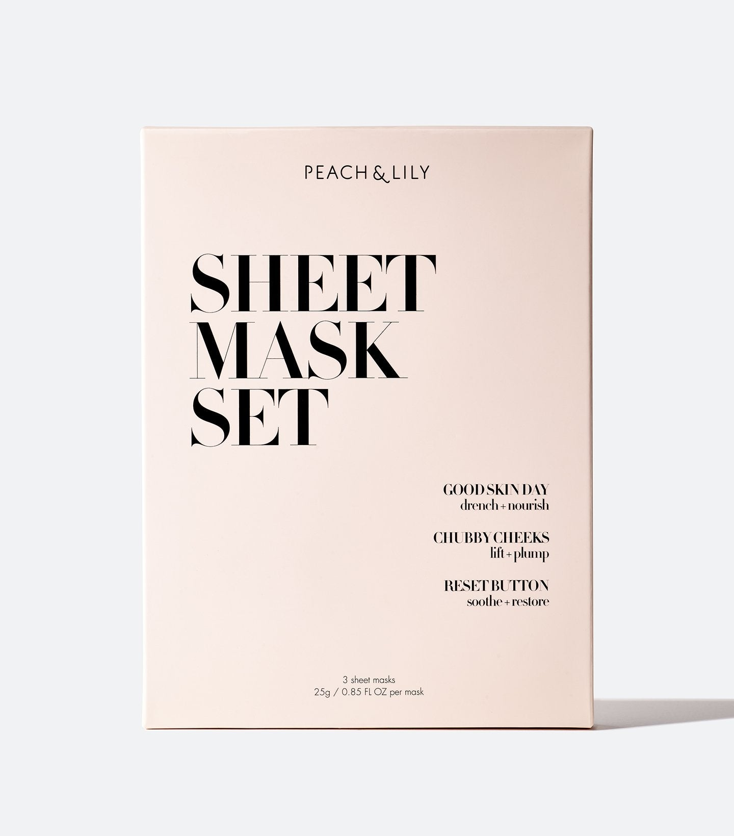 3 Sheet Masks Set