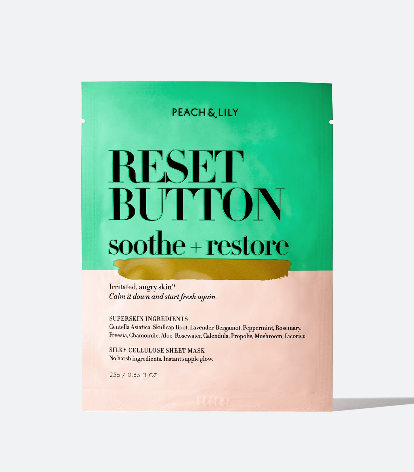 Reset Button Soothe + Restore Sheet Mask