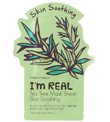 Tony Moly: I'm Real Tea Tree Mask - Skin Soothing