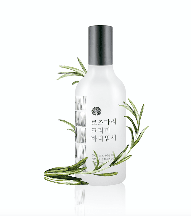 Rosemary Creamy Body Wash