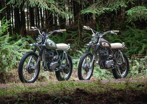 The Pair Of Yamaha XT500's