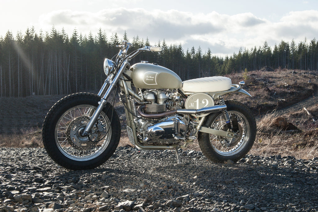 Red Clouds Triumph Motorcycle Build - Rubber Soul