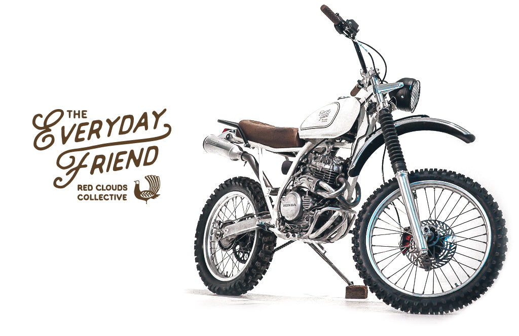 everyday friend, the one show, the 1 moto, the 1 show, one moto, portland, xl250, honda, enduro, vintage dirtbike, dirt bike, scrambler