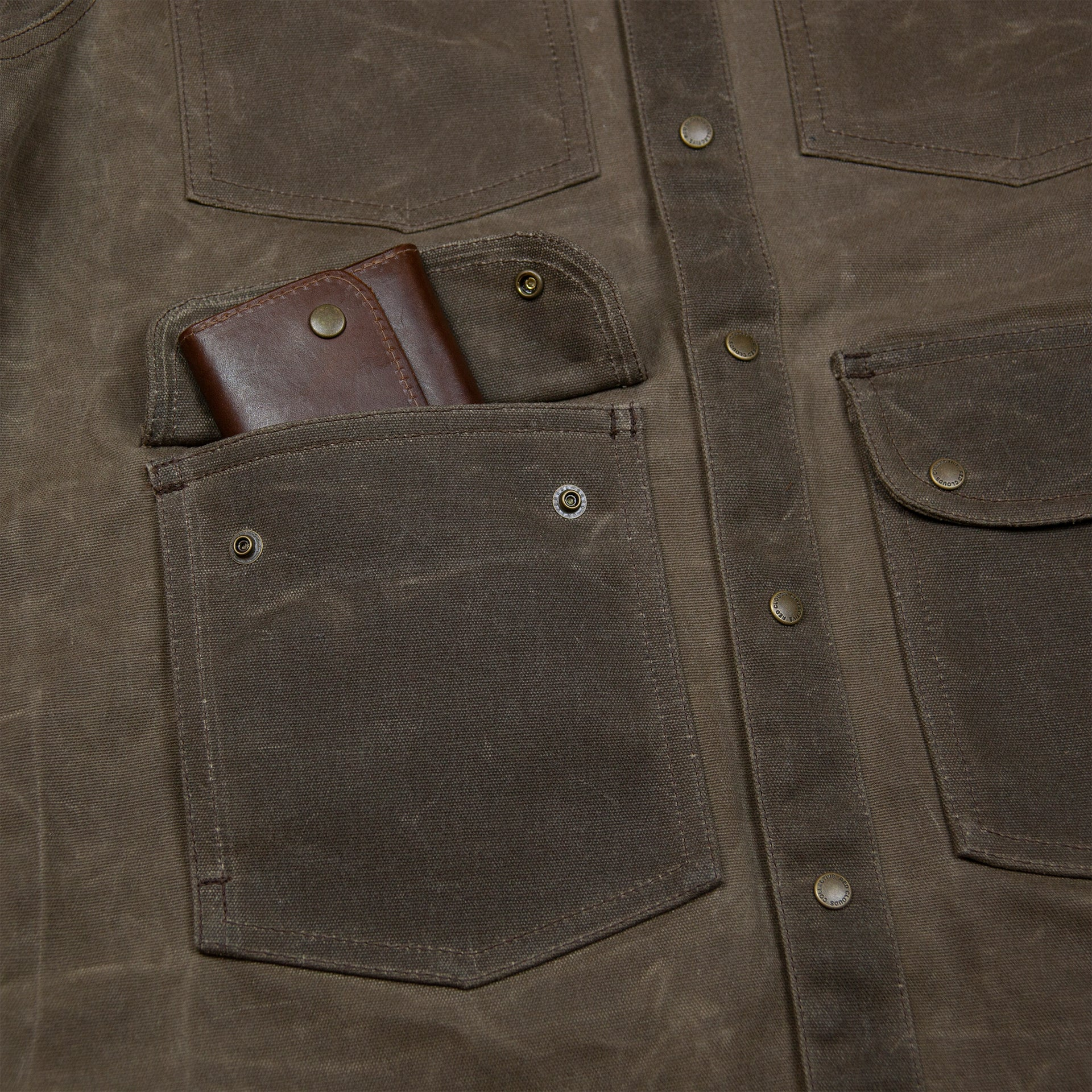 20 oz Waxed Canvas Jacket - Havana