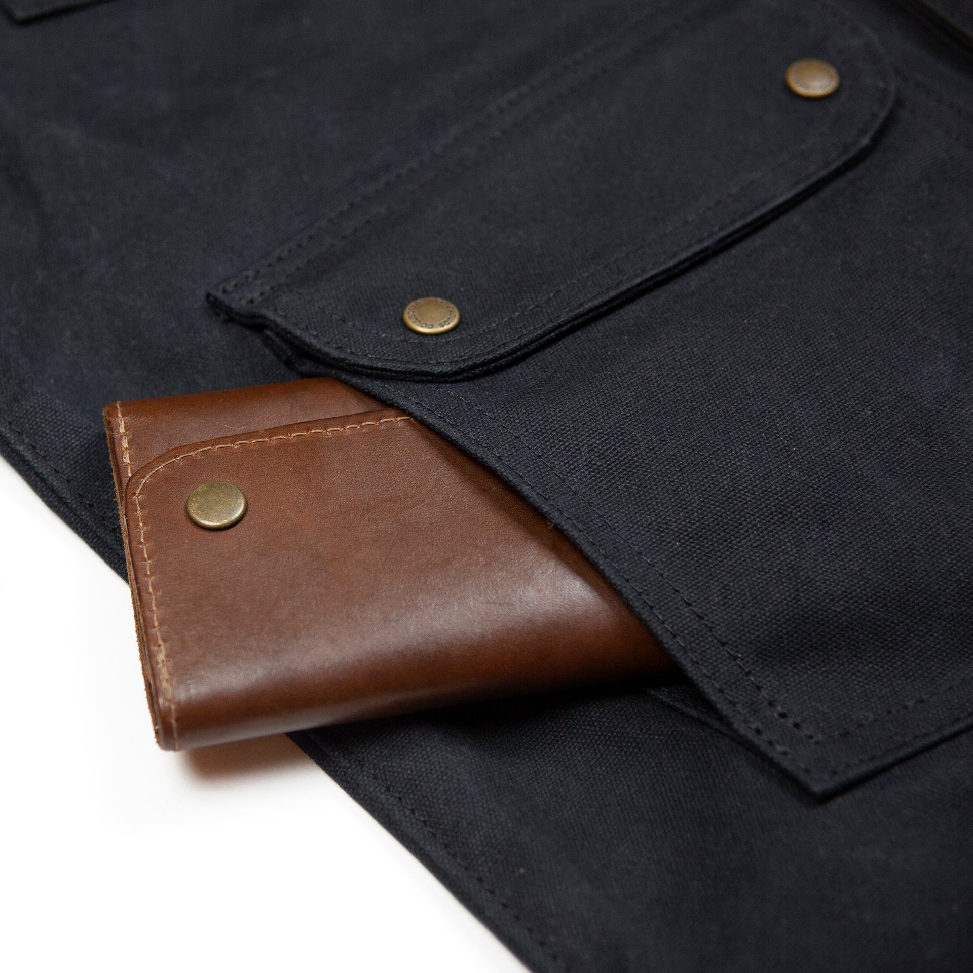 20 oz Waxed Canvas Jacket - Black