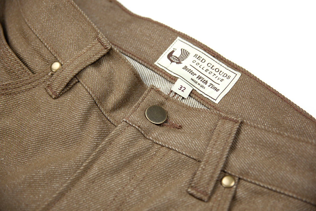 GN.01 Fitted Work Pant - Fire Resistant Denim