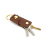 Leather Key Case - Saddle Tan