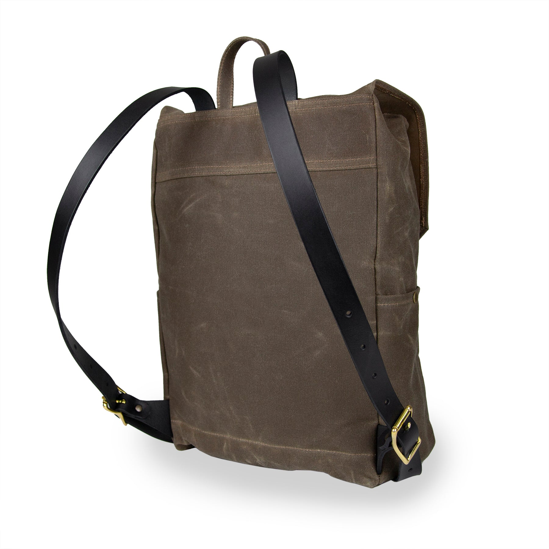 Day Tripper Backpack - Field Tan with Black Leather
