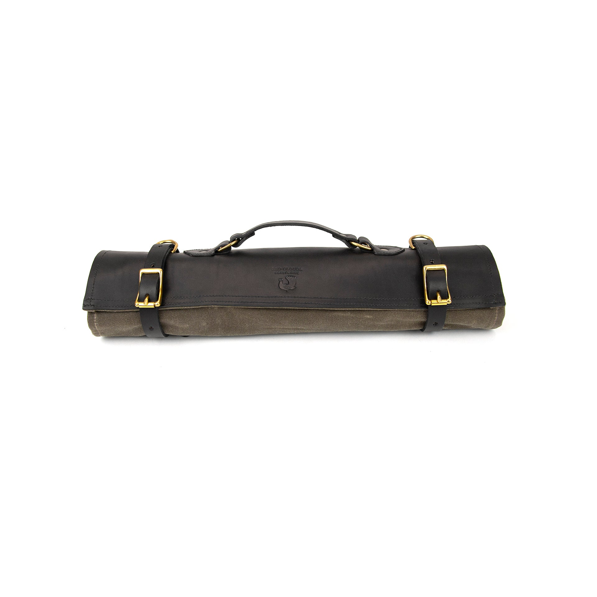 Chef Knife Roll - Havana / Black Leather