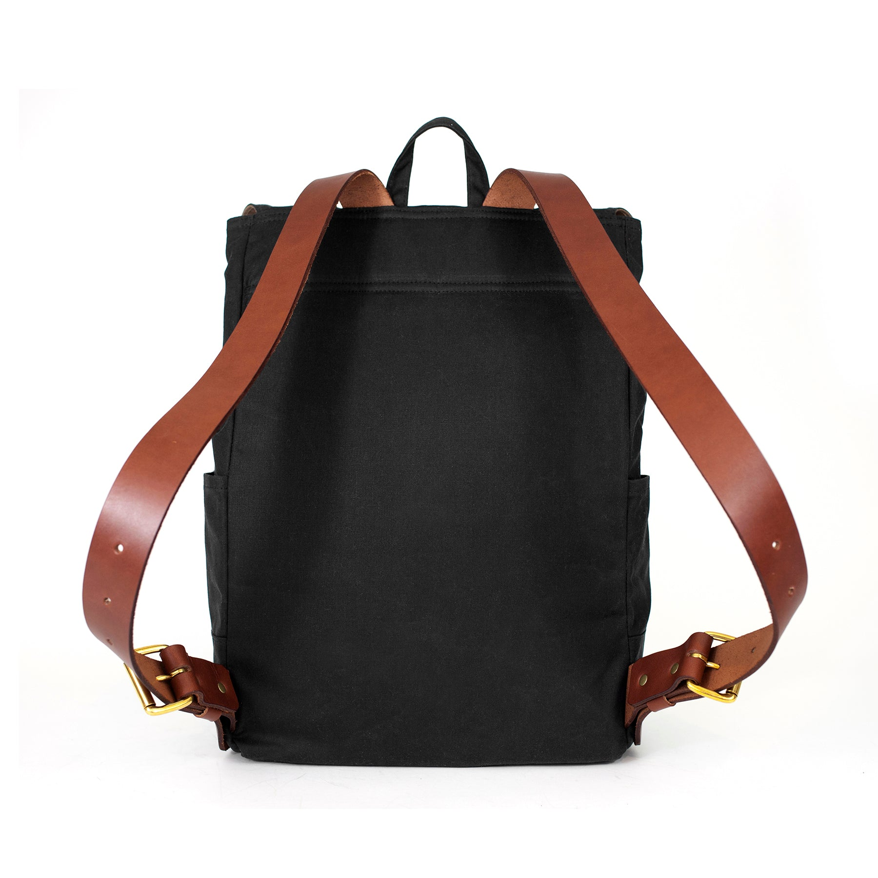 The Catamount Backpack - Black / Brown
